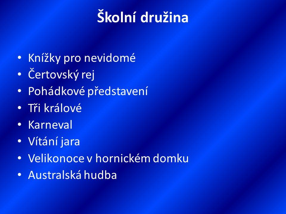 Školní projekty Psaní všemi deseti Škola u lesa Praha plná památek Město do kapsy Řemeslo žije