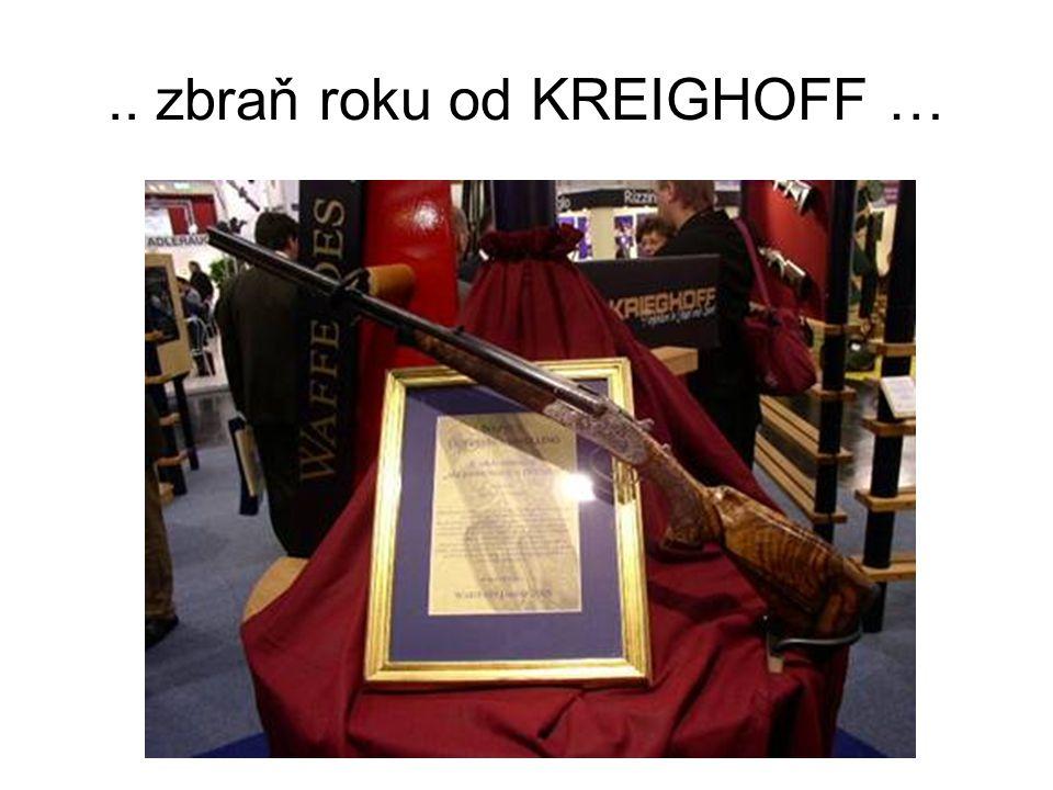 .. zbraň roku od KREIGHOFF …