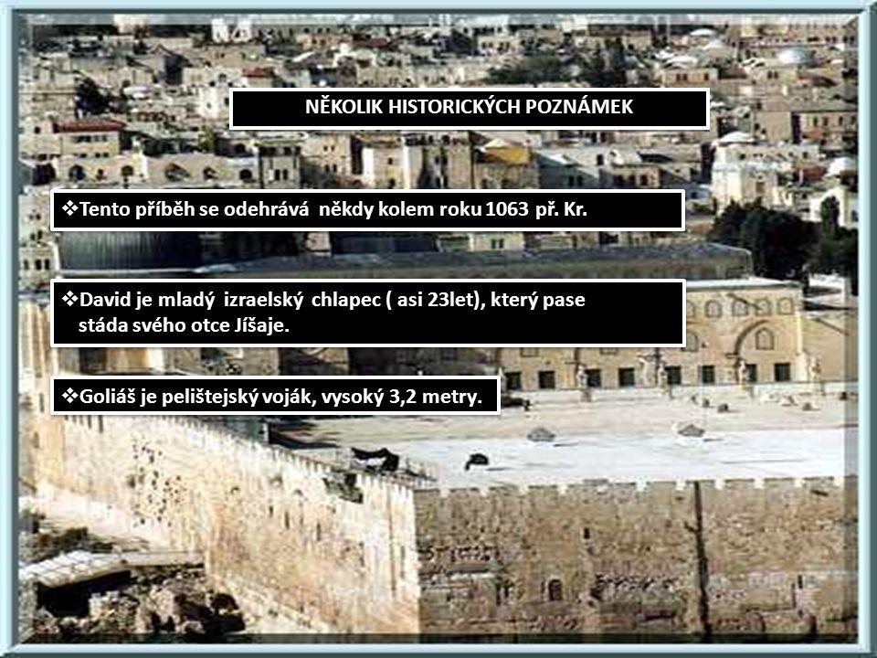 DAVID A GOLIÁŠ Autor prezentace: Daniel Bolek Na námět biblické knihy Samuel o izraelském králi Davidovi