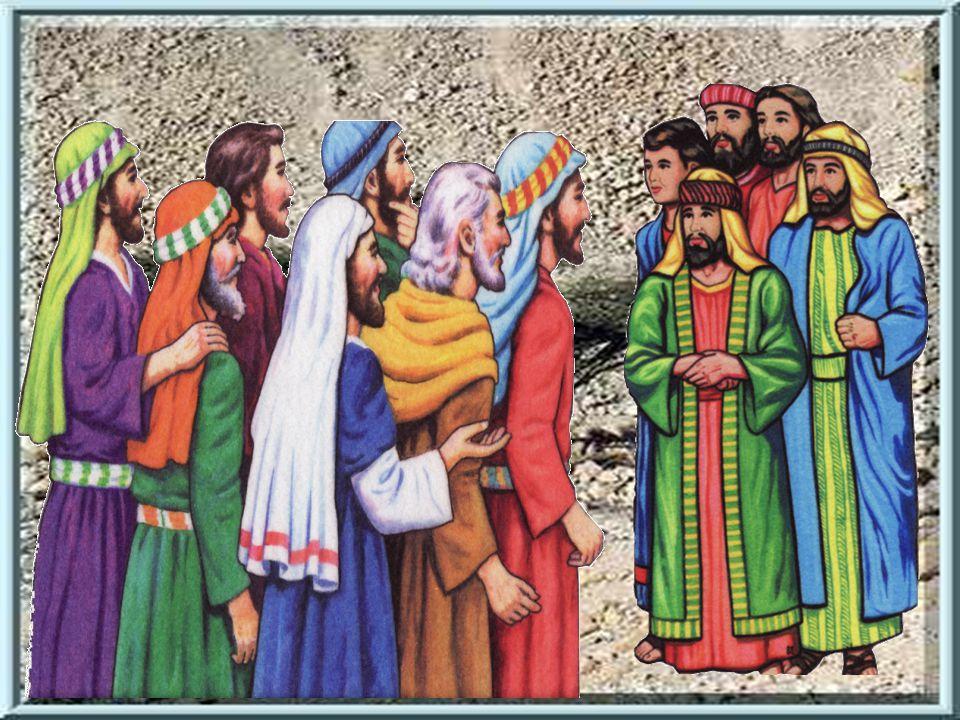 Když obr Goliáš uviděl Davida, jak jde na něj s prakem a holí, začal se smát.