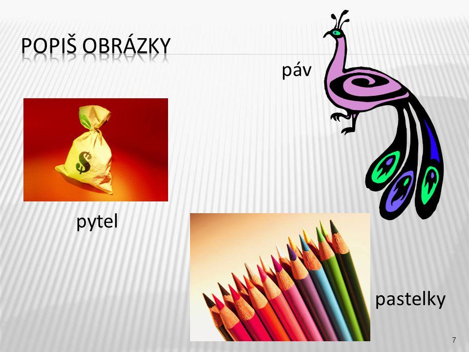 páv 7 pytel pastelky