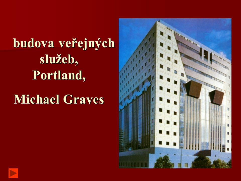 budova veřejných služeb, Portland, budova veřejných služeb, Portland, Michael Graves