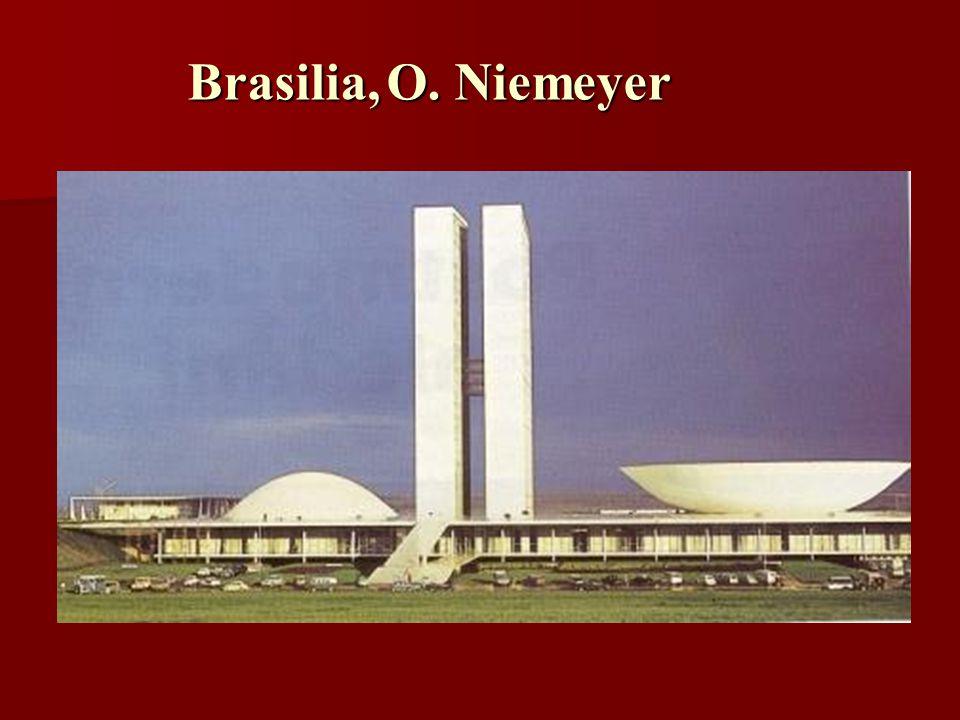 Brasilia,O. Niemeyer Brasilia, O. Niemeyer