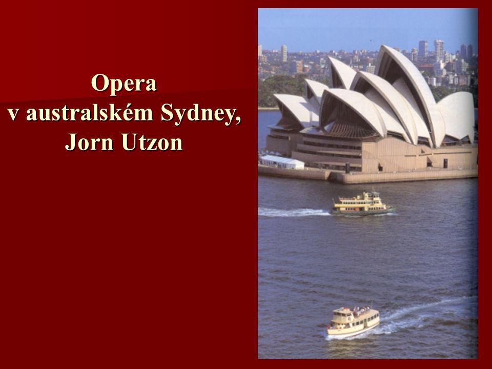 Opera v australském Sydney, Jorn Utzon