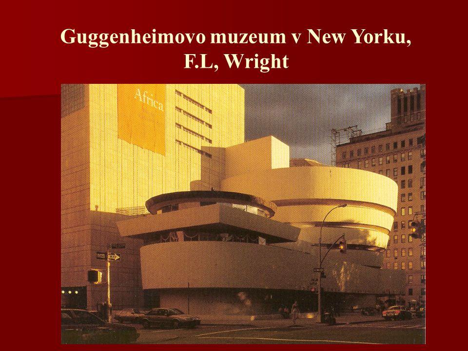 Guggenheimovo muzeum v New Yorku, F.L, Wright
