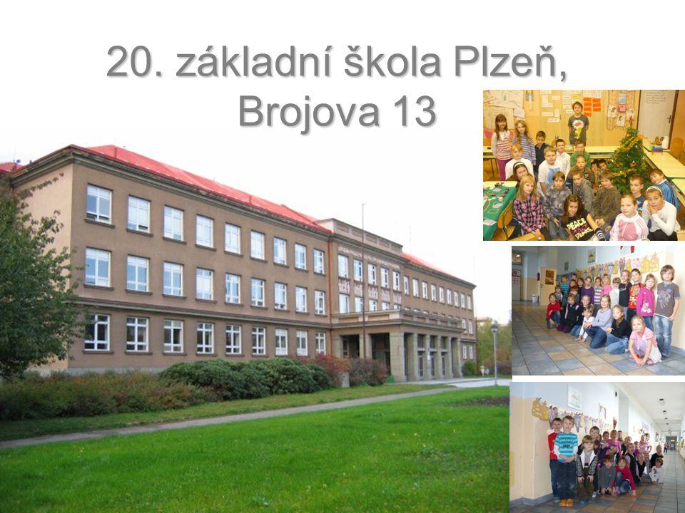 20. základní škola Plzeň, Brojova 13