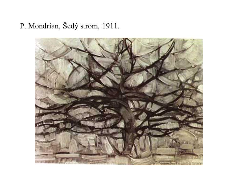 P. Mondrian, Šedý strom, 1911.