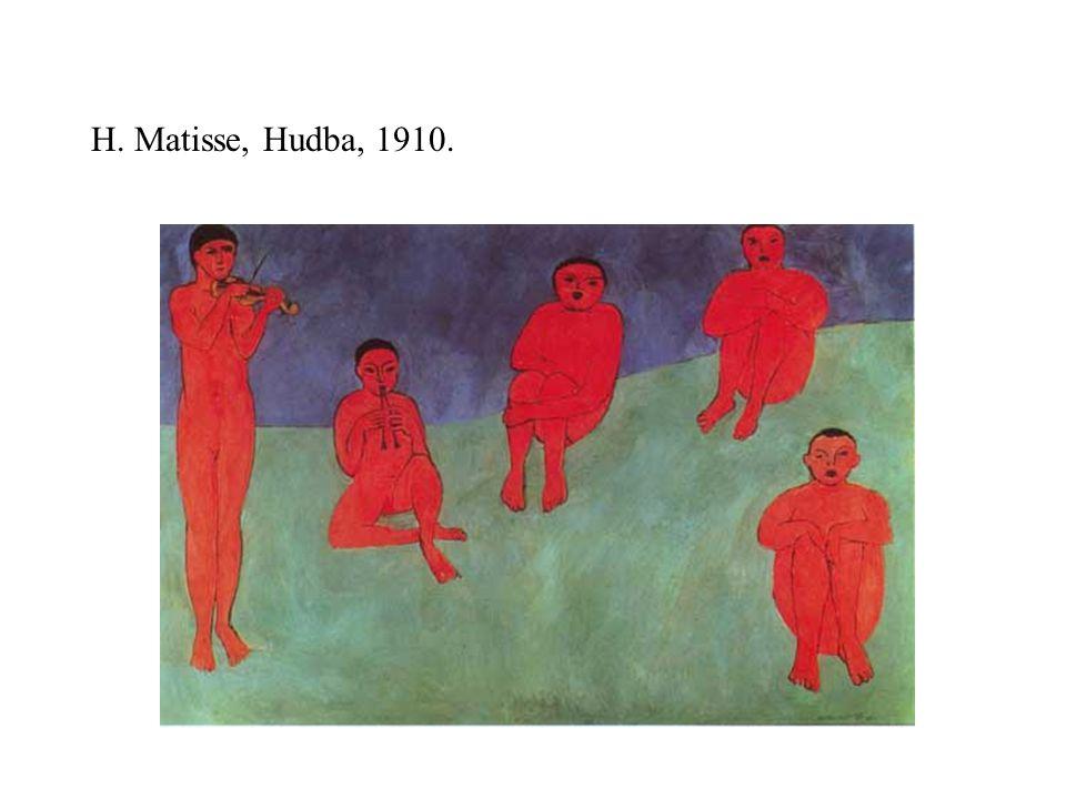 H. Matisse, Hudba, 1910.