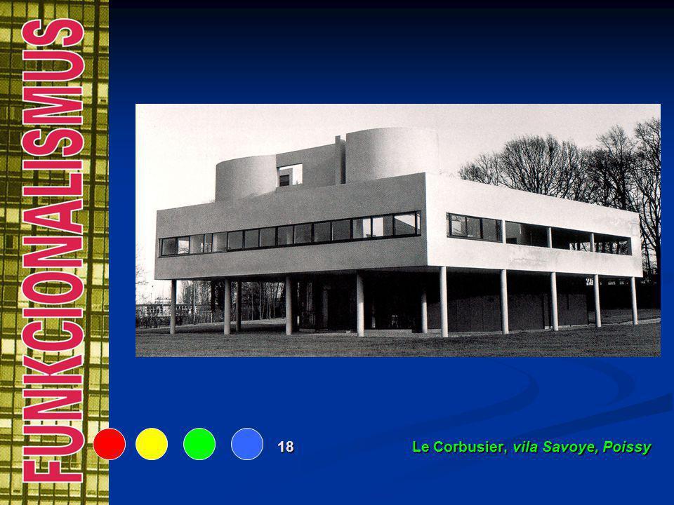 18 Le Corbusier, vila Savoye, Poissy
