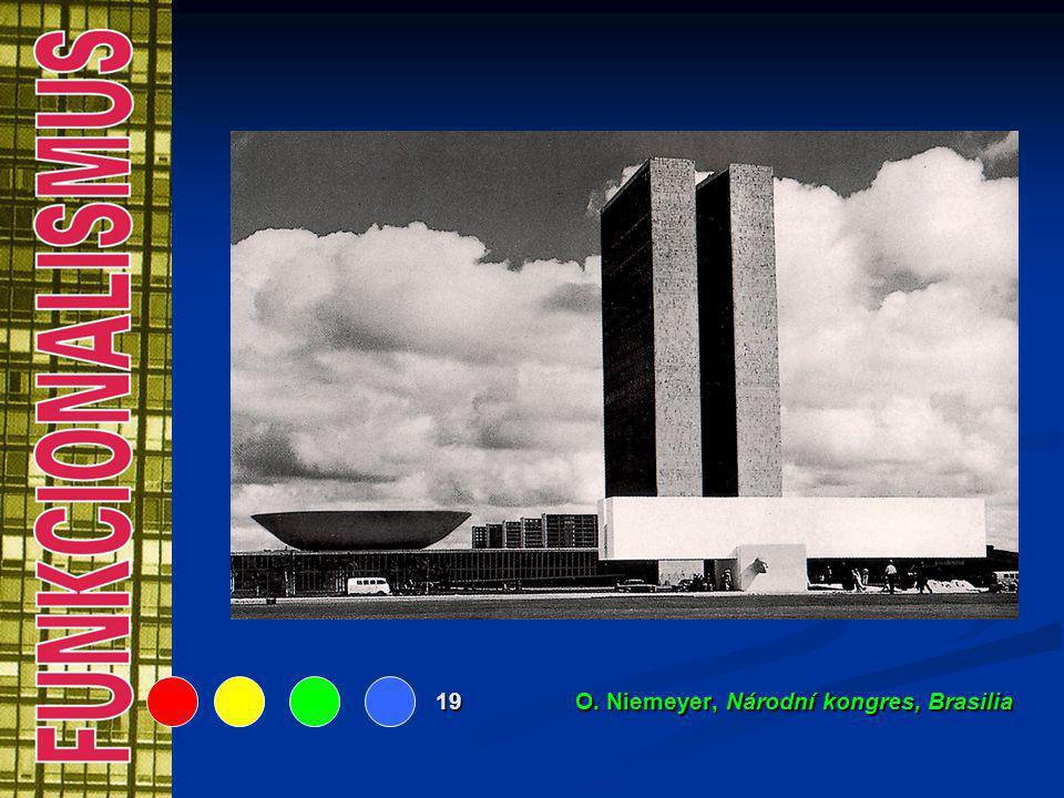 19 O. Niemeyer, Národní kongres, Brasilia