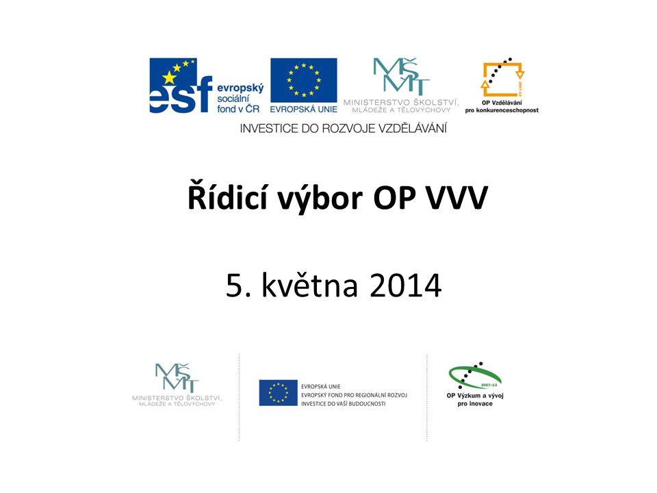 Řídicí výbor OP VVV 5. května 2014