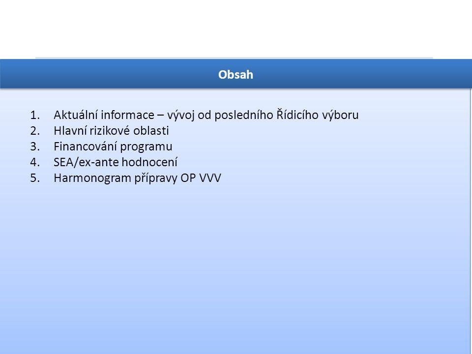 OP VVV  Konec dubna 2014 – nová verze OP VVV  5.