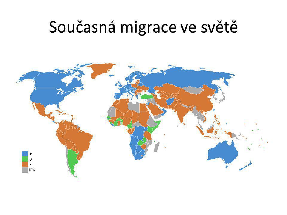 Současná migrace ve světě