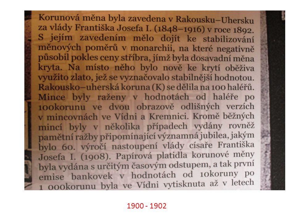 8. Kde se nacházela československá mincovna? Na Slovensku v Kremnici