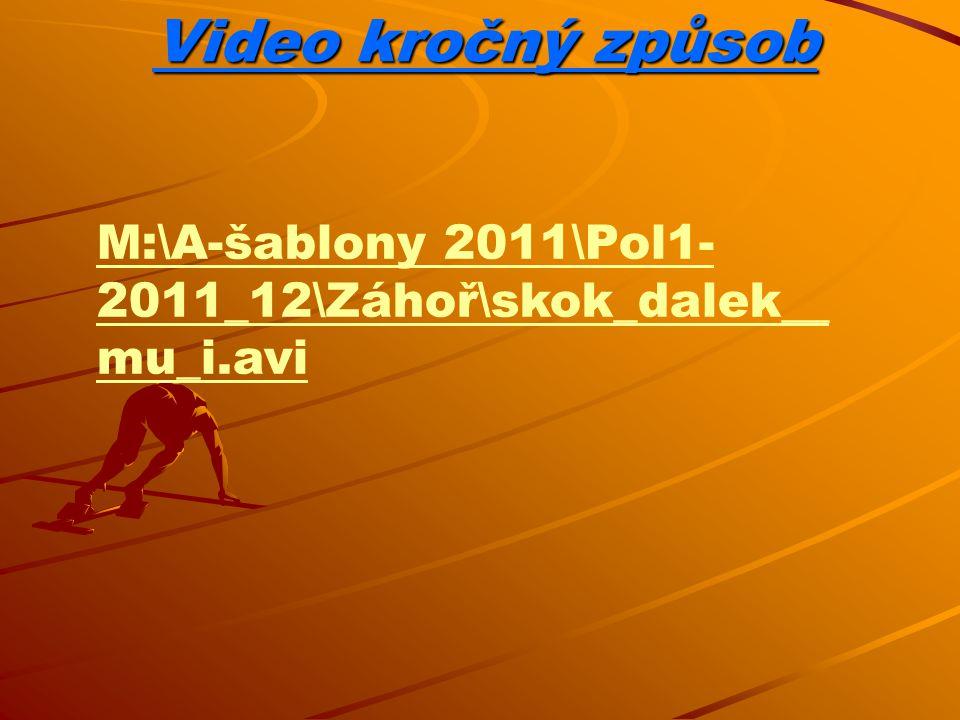 Video závěsný způsob M:\A-šablony 2011\Pol1- 2011_12\Záhoř\The_Hang_St yle_Long_Jump__2.avi