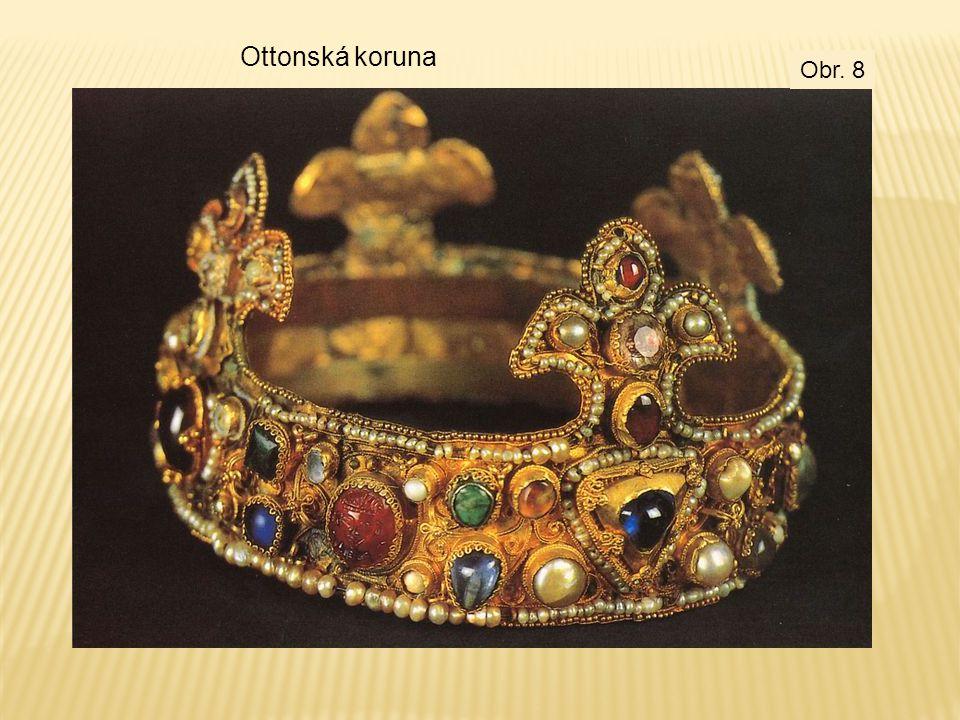 Ottonská koruna Obr. 8