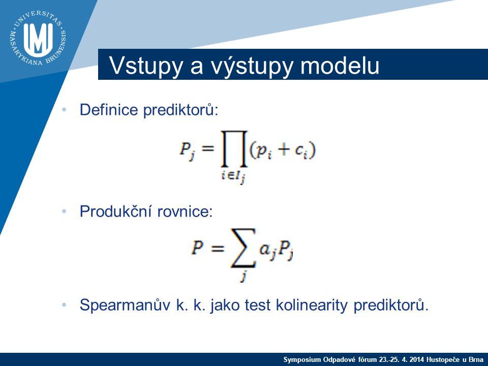 Symposium Odpadové fórum 23.-25. 4.