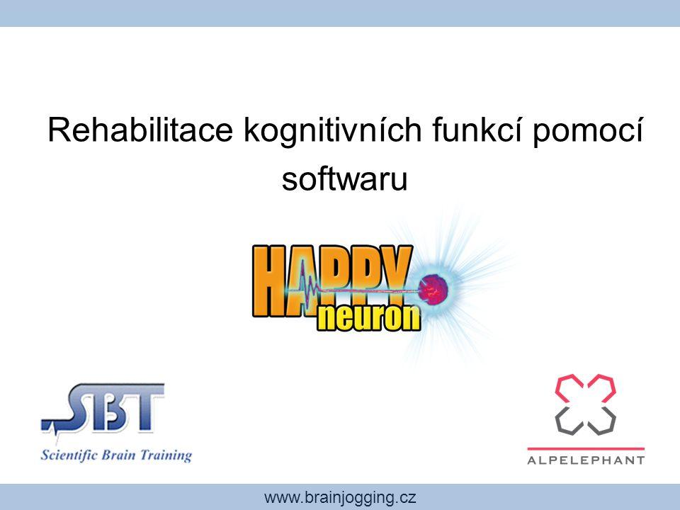 www.brainjogging.cz Stejné hry, pouze jiné rozhraní Program SBT PRO obsahuje stejné hry jako HAPPYneuron, ovšem liší se v rozhraní, charakteru a množství informací pro terapeuta.