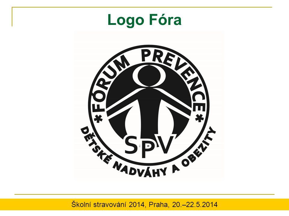 Logo Fóra Školní stravování 2014, Praha, 20.–22.5.2014