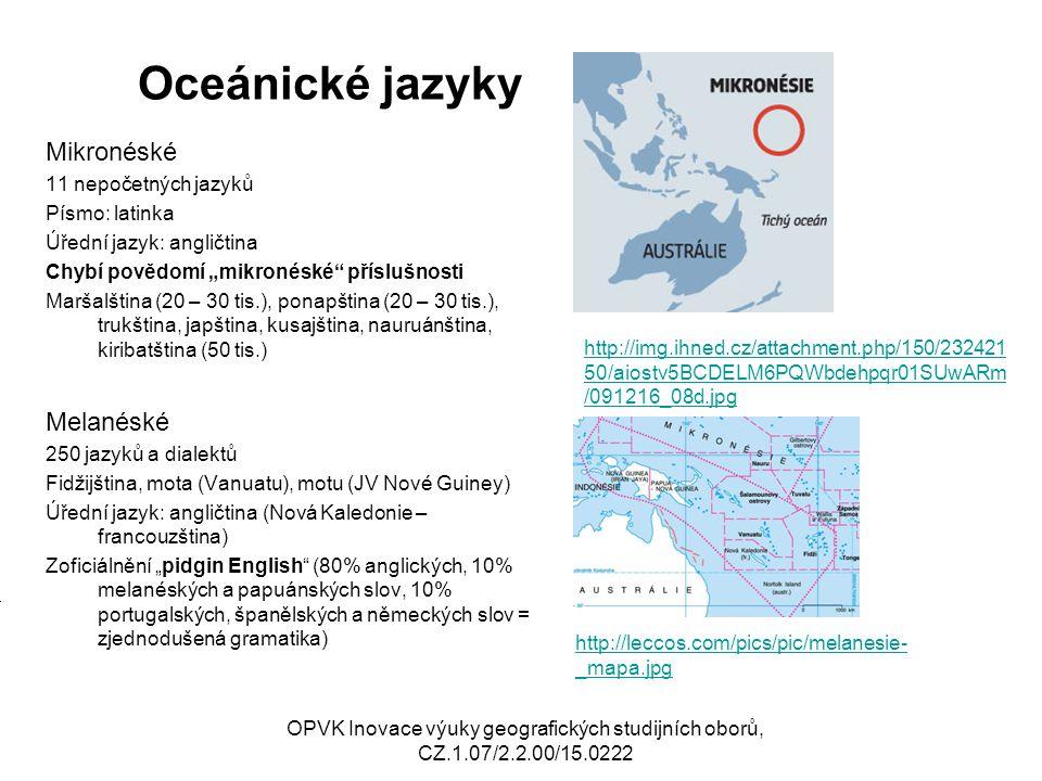 Oceánické jazyky II.