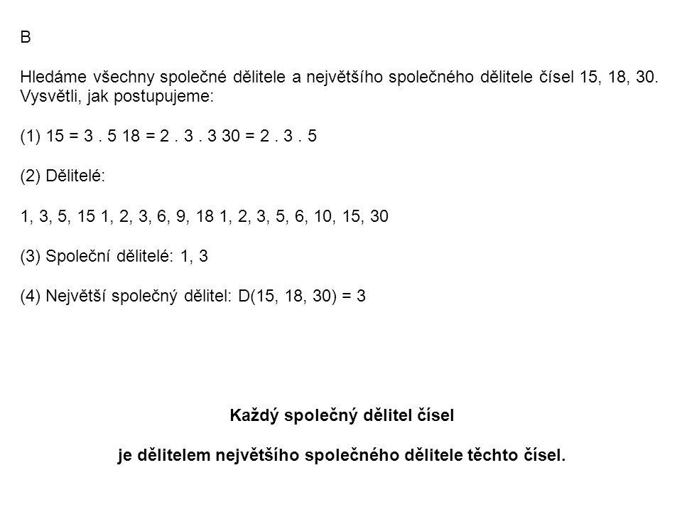 C Ke každému číslu v levém oválu najdi to číslo z pravého oválu, které se mu rovná.