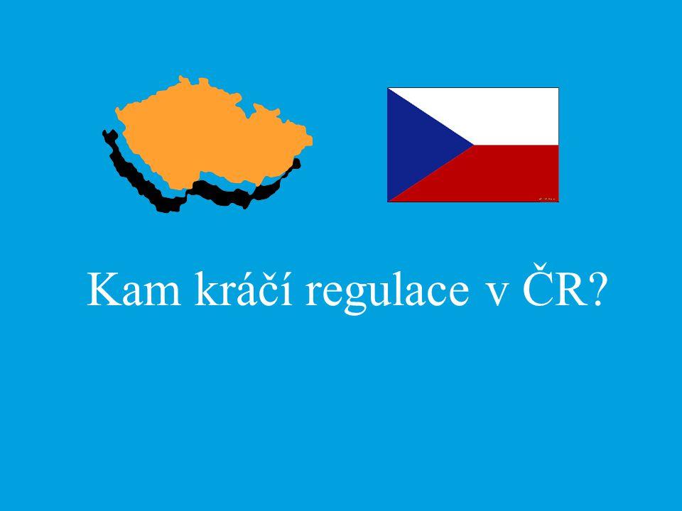 Kam kráčí regulace v ČR?
