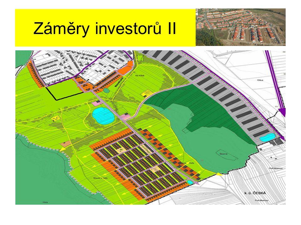 Záměry investorů II