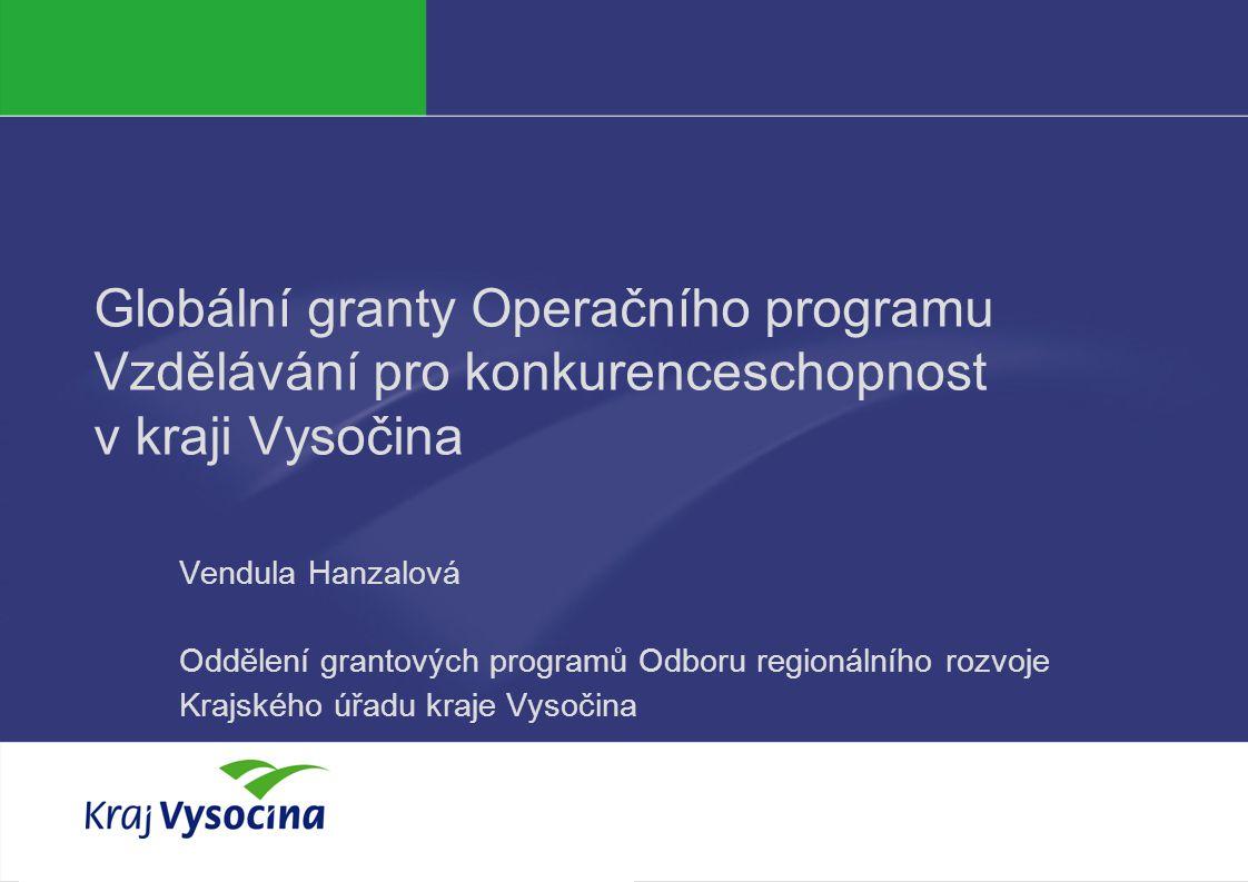 Vendula Hanzalová 20.5. 2010 Celkový stav pro PO 1 v první části programového období – za 1.