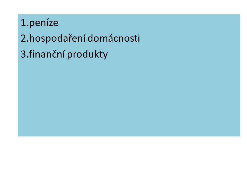 Finanční gramotnost Hospodaření rodiny 1 I. stupeň Jaroslava Pavlatová, 12.9.2011, Finanční gramotnost I. stupeň, Hospodaření rodiny 1