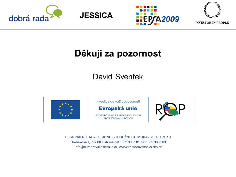 Děkuji za pozornost David Sventek JESSICA