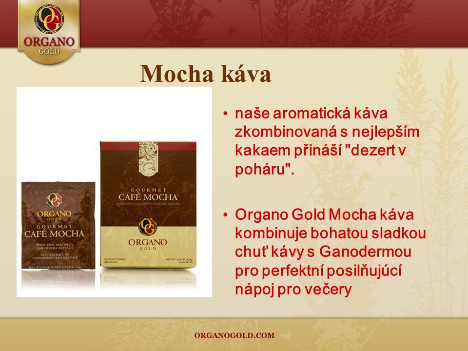 Mocha káva naše aromatická káva zkombinovaná s nejlepším kakaem přináší dezert v poháru .