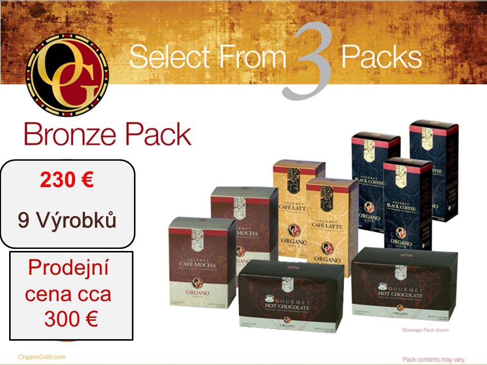 t 230 € 9 Výrobků Prodejní cena cca 300 €