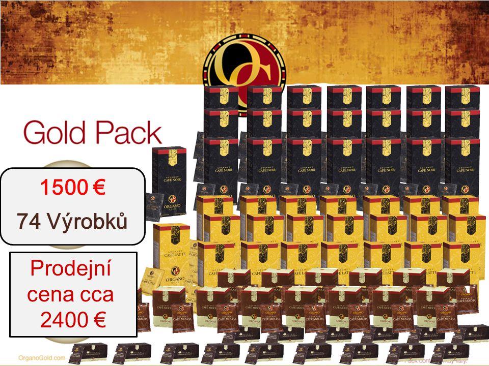 1500 € 74 Výrobků Prodejní cena cca 2400 €