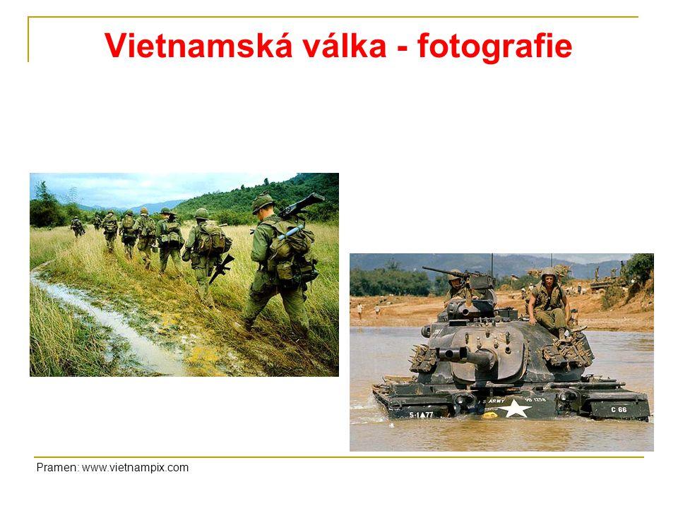 Vietnamská válka - fotografie Pramen: www.vietnampix.com