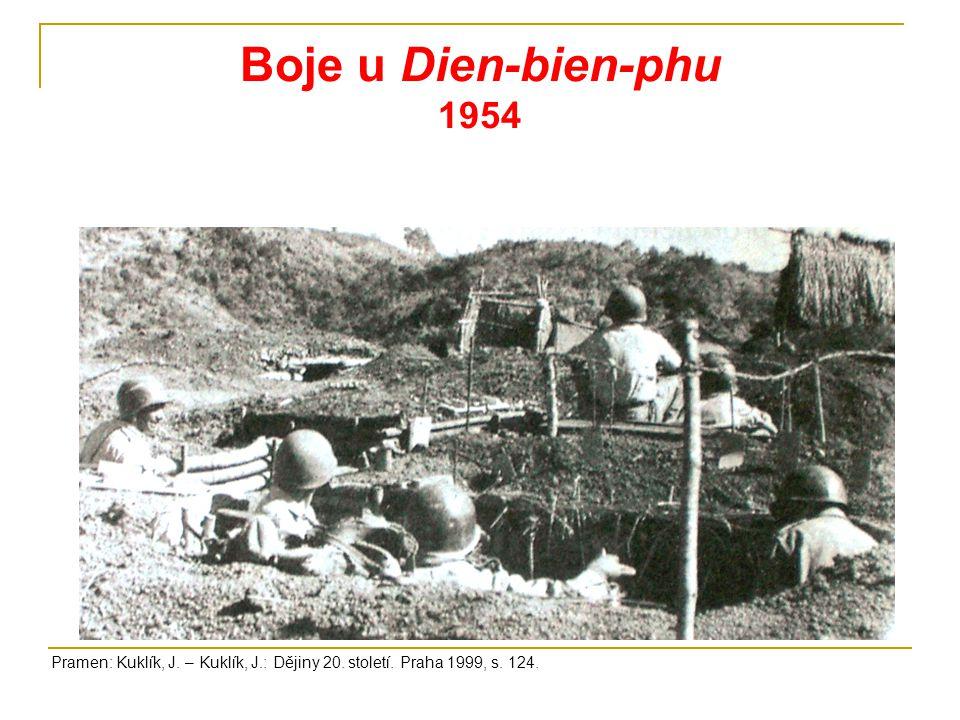 Guerilová válka Vietcongu Pramen: www.learnhistory.org.uk/vietnam/ www.commons.wikimedia.org