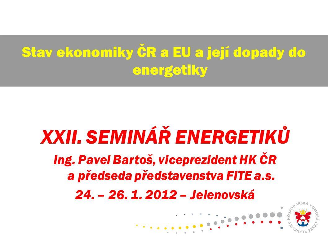 30.červenec 2009 12 Celosvětová problematika Globálního oteplování - emise CO 2 v EU r.