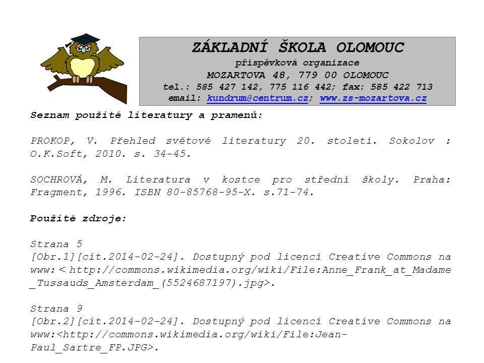 ZÁKLADNÍ ŠKOLA OLOMOUC příspěvková organizace MOZARTOVA 48, 779 00 OLOMOUC tel.: 585 427 142, 775 116 442; fax: 585 422 713 email: kundrum@centrum.cz; www.zs-mozartova.czkundrum@centrum.czwww.zs-mozartova.cz