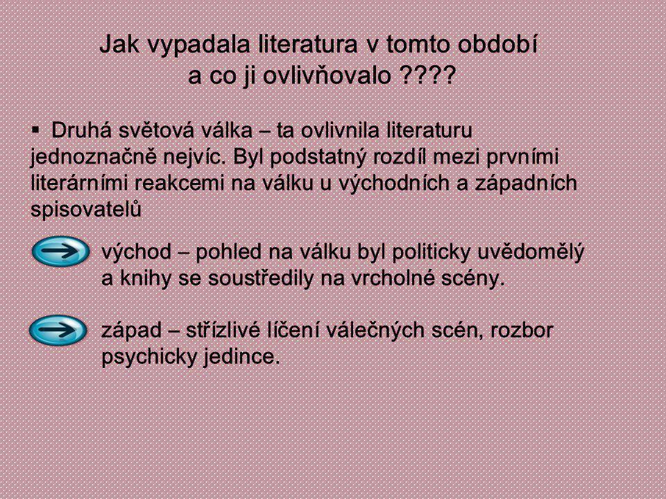 Jak vypadala literatura v tomto období a co ji ovlivňovalo ???.