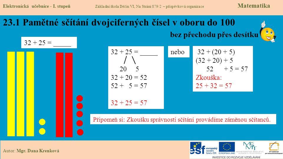 23.2 Co si budeme pamatovat Elektronická učebnice - I.