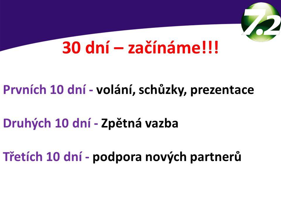 30 dní – začínáme!!.