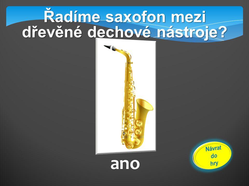 Jaký nástroj je na obrázku? klarinet