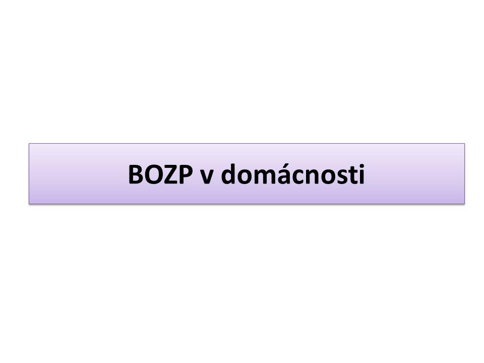 Co znamená zkratka BOZP.