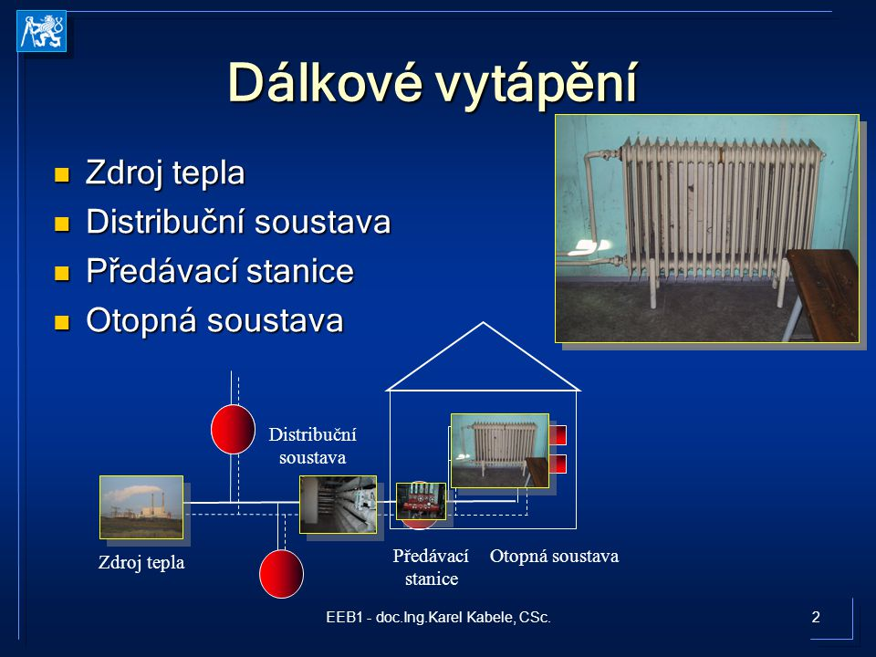 3EEB1 - doc.Ing.Karel Kabele, CSc.