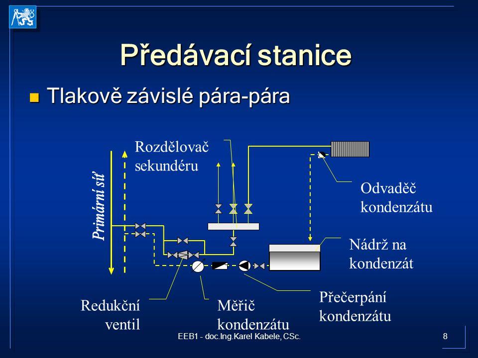 9EEB1 - doc.Ing.Karel Kabele, CSc. Příklad zapojení předávací stanice