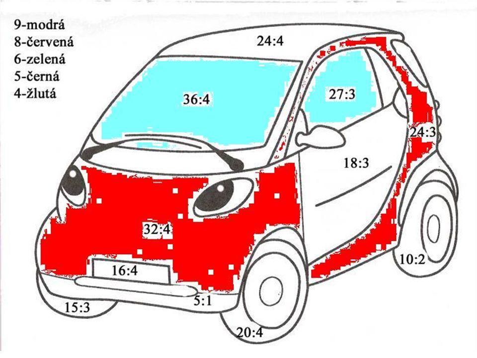 Sestav příklad ze zadaných čísel .2011 614 ?. 67 82 20 48 : = · = : = 14 7 2 .