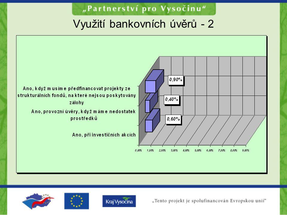 Využití bankovních úvěrů - 2