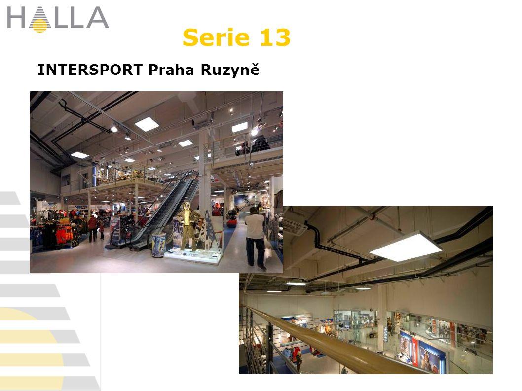 INTERSPORT Praha Ruzyně Serie 13