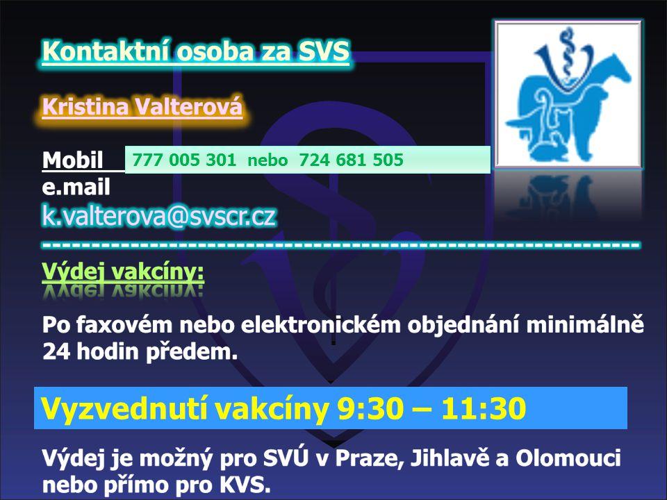 Bluetongue Program vakcinace v České republice Cílem vakcinace je naočkovat minimálně 80% populace přežvýkavců