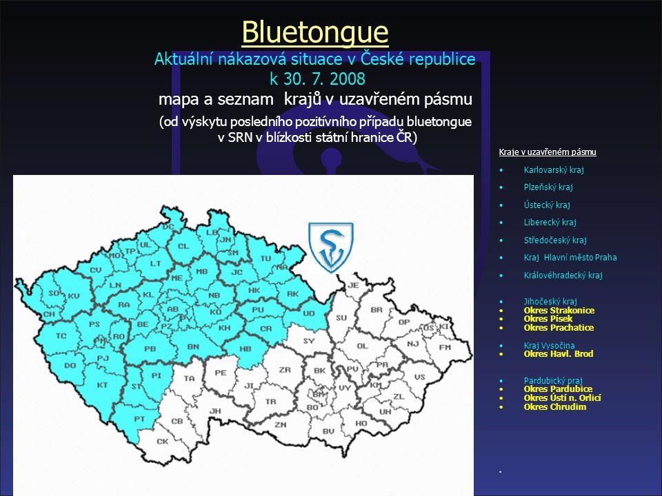 Aktuální mapa uzavřených pásem v Evropě