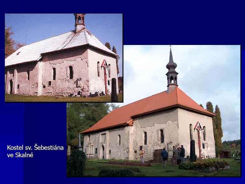 Kostel sv. Šebestiána ve Skalné